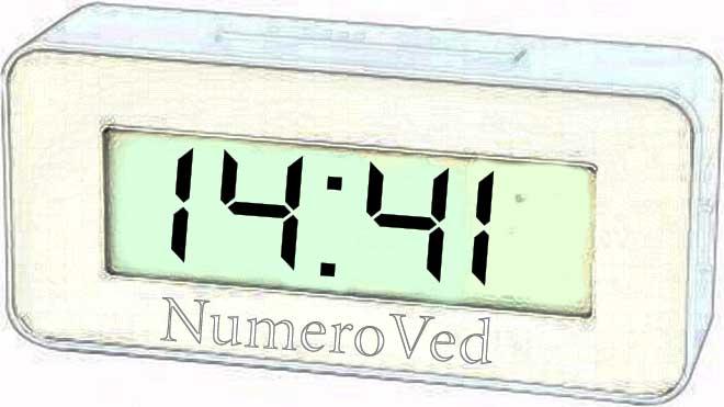 1441 на часах значение