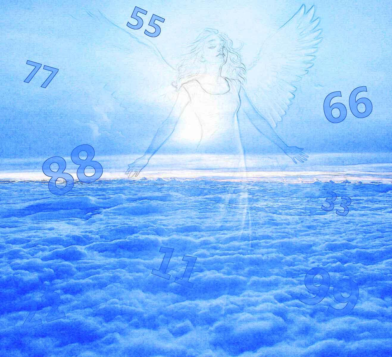одинаковые цифры на часах сообщения от ангела