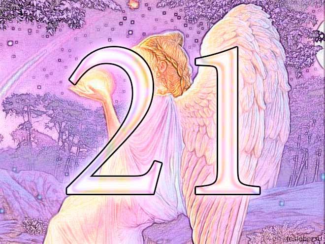 значение числа 21