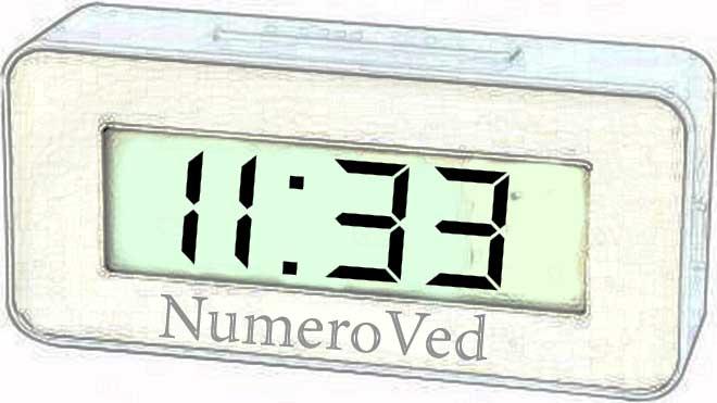 11 33 на часах значение