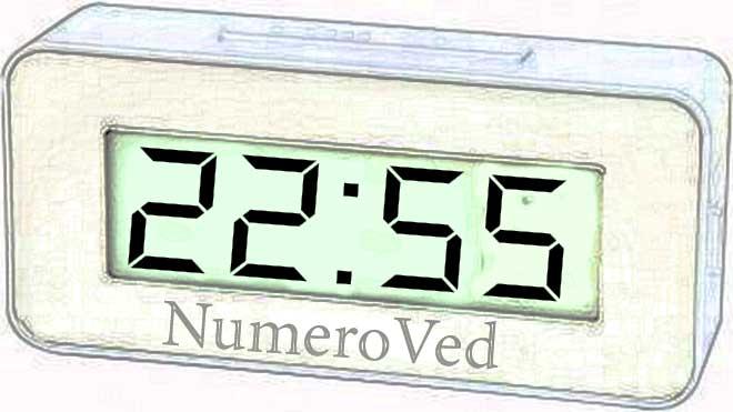 22 55 на часах значение